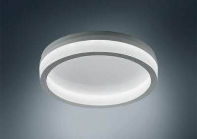 Wall-mounted light fixture / surface-mounted / LED / round